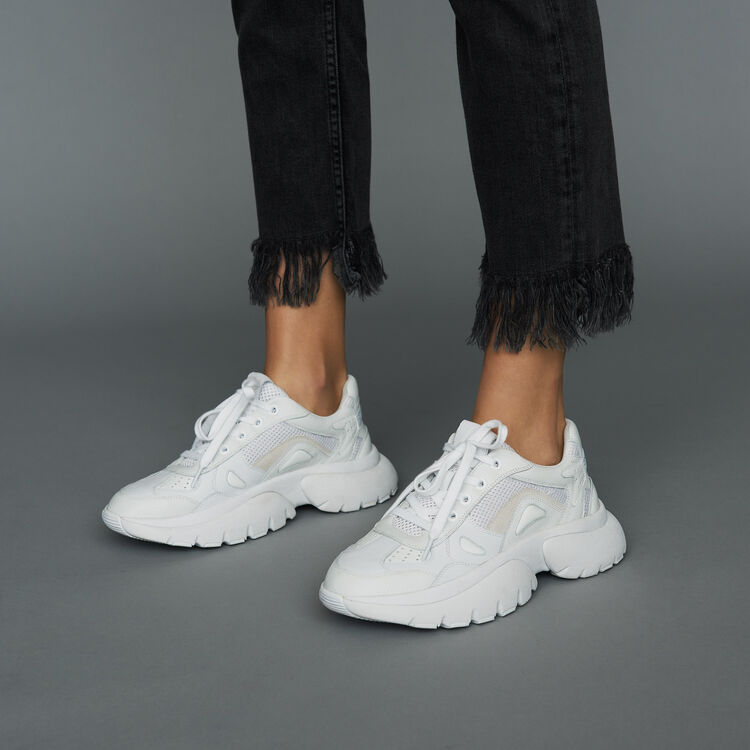 Sneakers di cita W20 di pelle : Sneakers colore Bianco