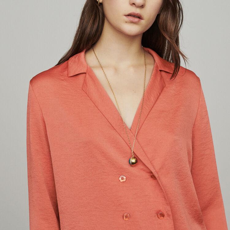 Camicetta tipo blazer : Tops e Camicie colore Corallo