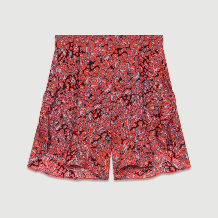 Pantaloncini stampati con volant : Nuova collezione colore IMPRIME