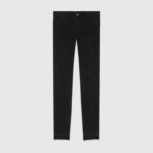 Jeans skinny in cotone Stretch : Pantaloni e Jeans colore Antracite