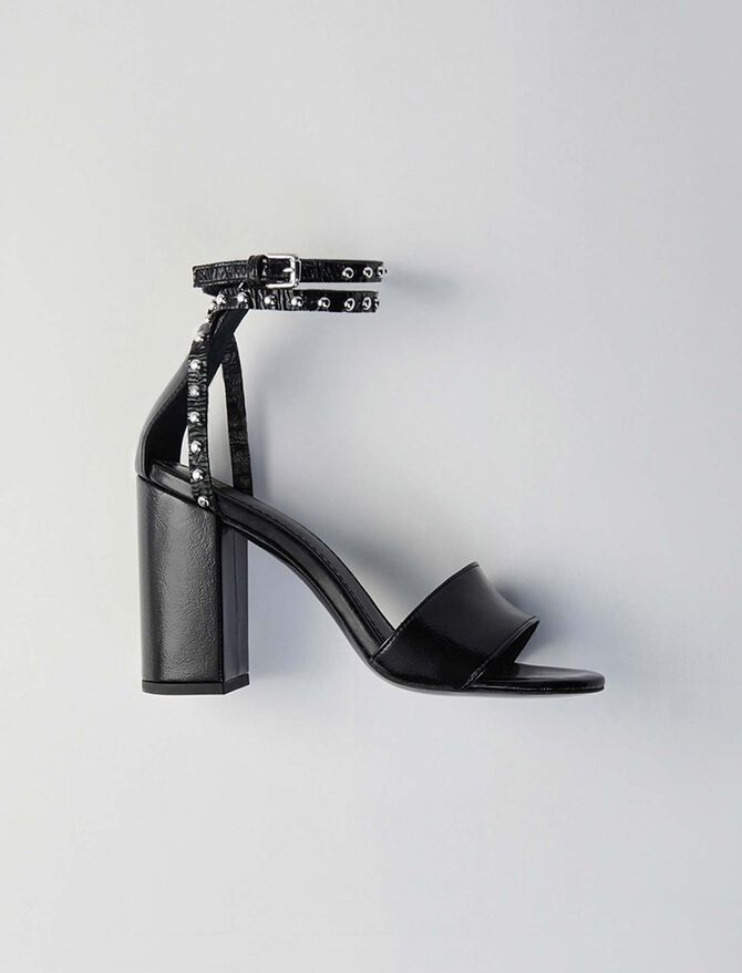 Sandali tacco di vinile - Scarpe - MAJE
