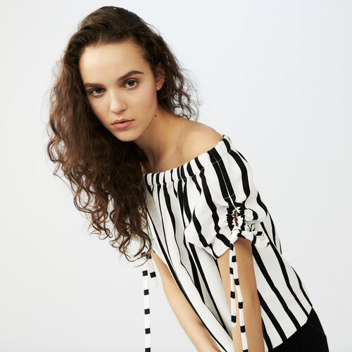 Striped top : Tops colore A Righe