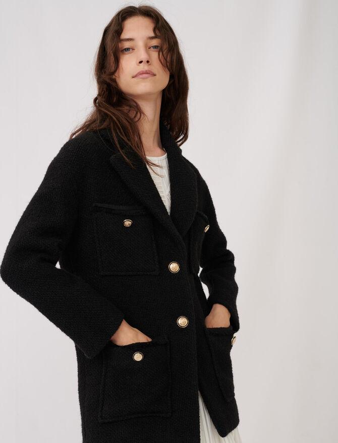 Cappotto stile tweed - Cappotti e Giubbotti - MAJE