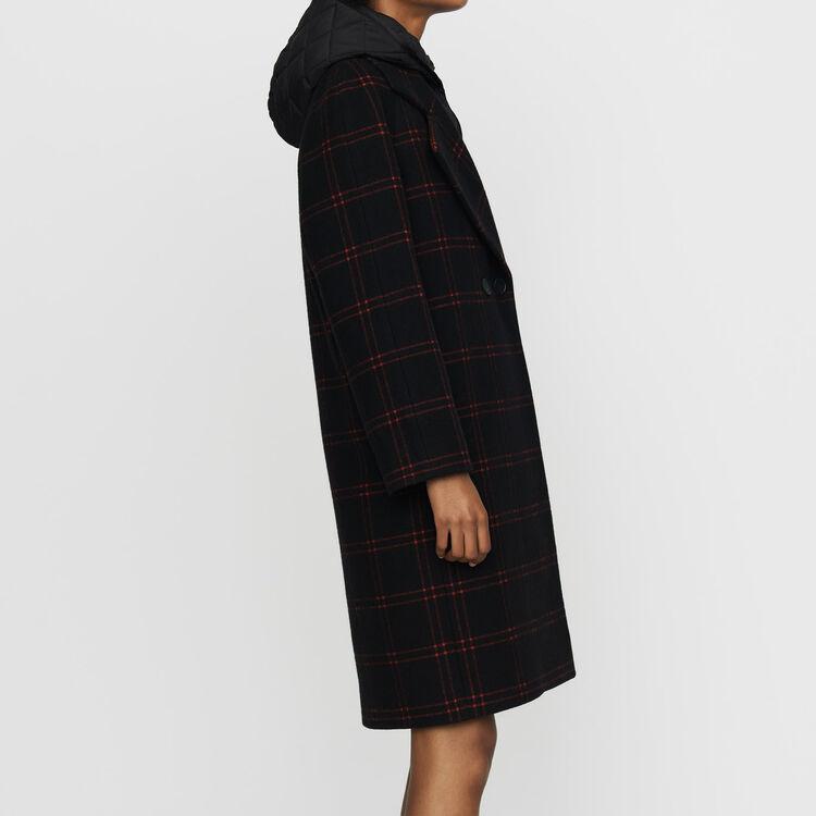 Cappotto a quadri con piumino : Cappotti colore CARREAUX