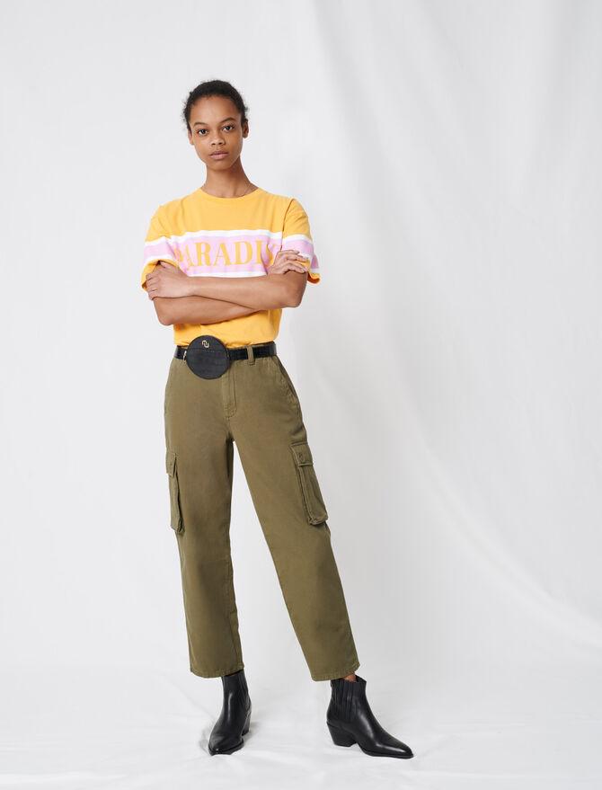 Pantaloni denim stile cargo - Pantaloni e Jeans - MAJE