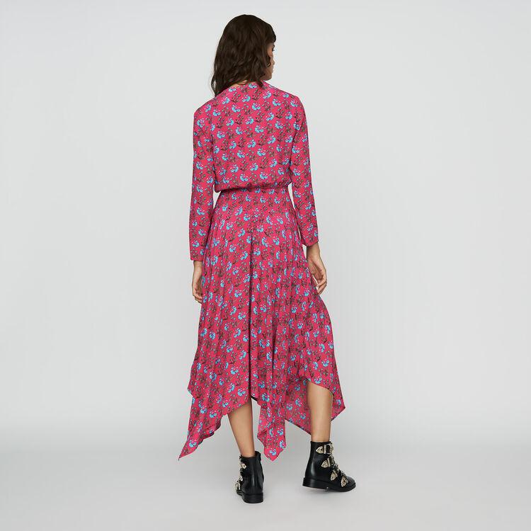 Vestito lungo stampato : Prêt-à-porter colore IMPRIME