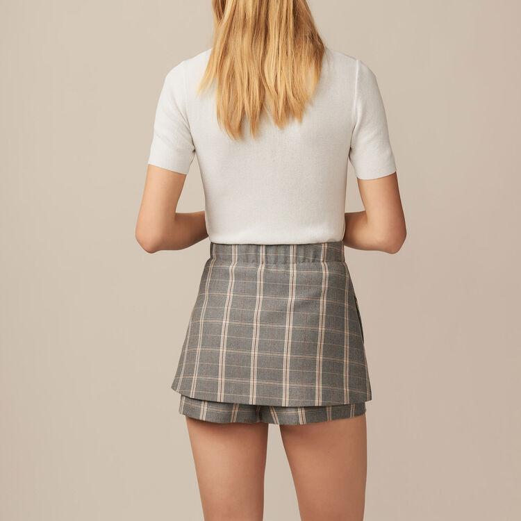 Pullover in maglia sottile : Maglieria colore Ecru