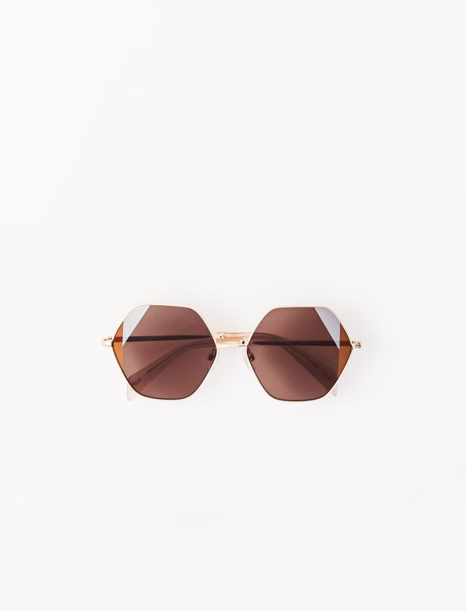 Occhiali da sole Seventies in acetato -  - MAJE