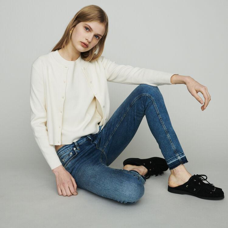 Jeans slim in cotone stretch : Pantaloni e Jeans colore Denim