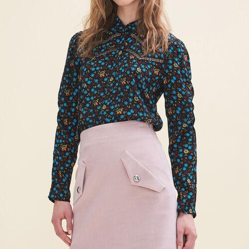 Camicetta con stampa floreale - Camicie - MAJE