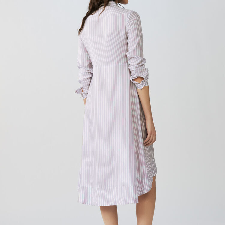 Striped dress : Vestiti colore A Righe