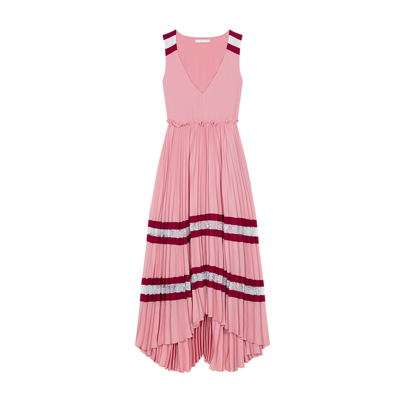 Long pleated dress - Vestiti - MAJE